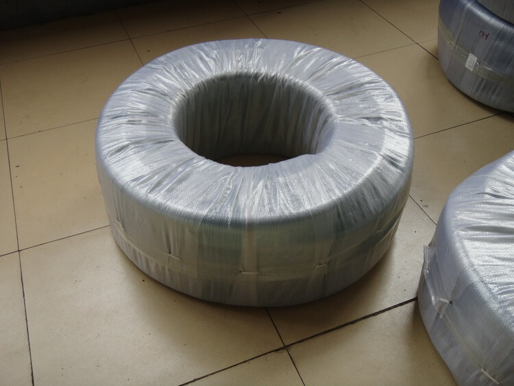 Packaging of PVC steel wire hose